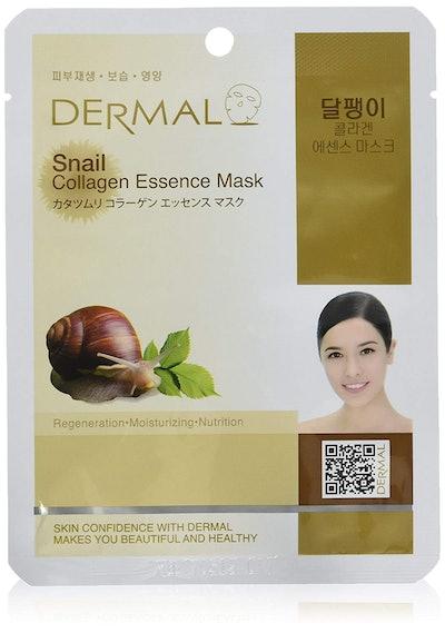 DERMAL Snail Collagen Essence Facial Mask Sheet
