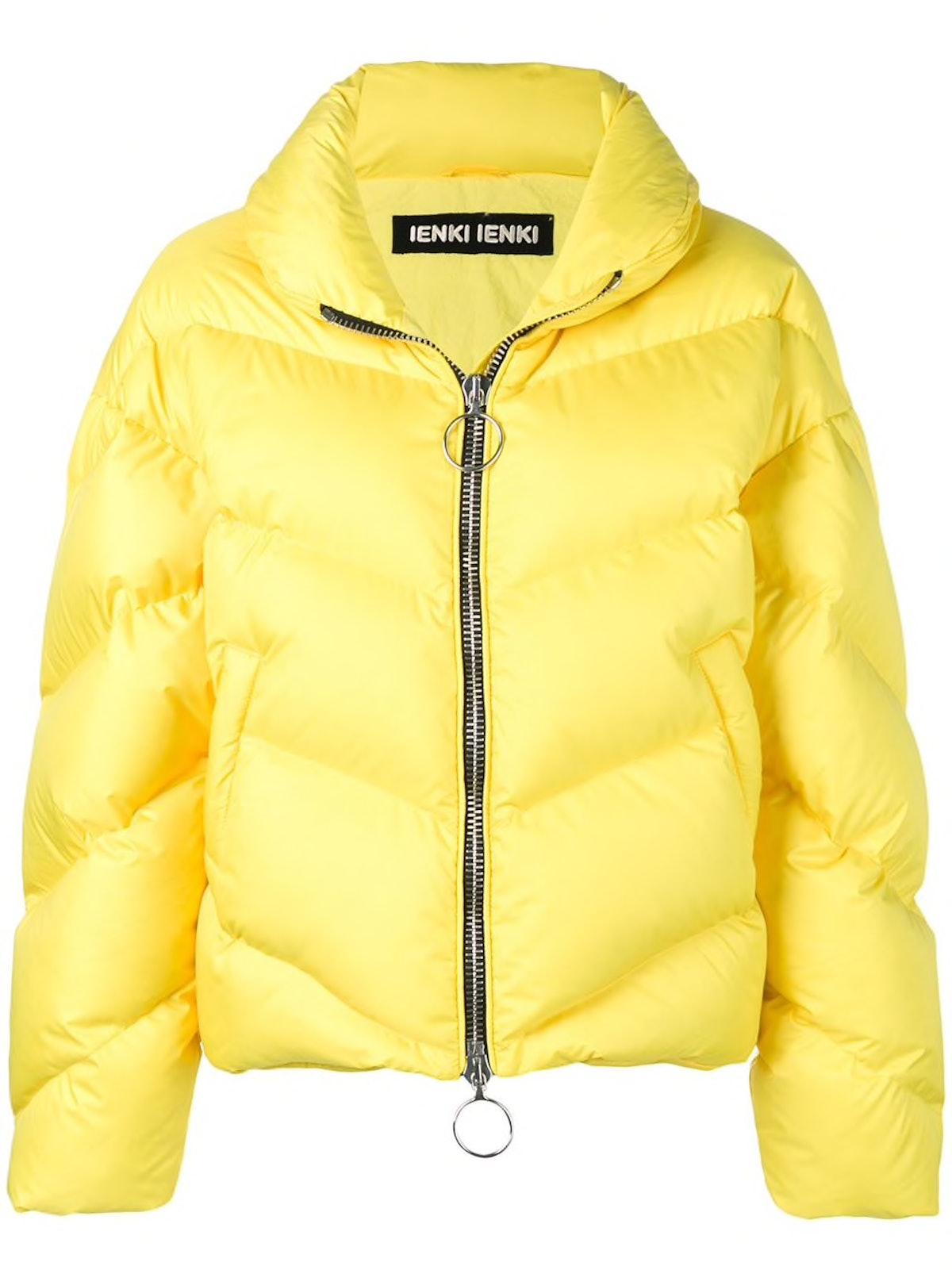 Zipper Puffer Jacket