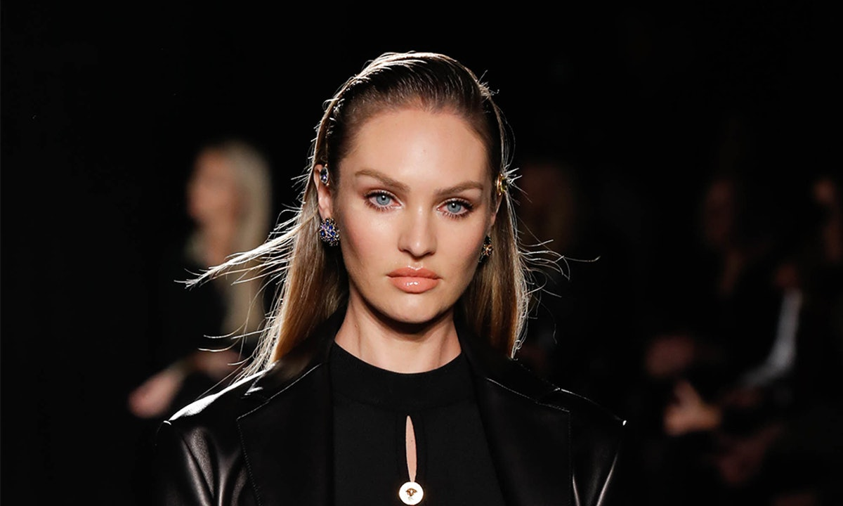 Candice Swanepoel's Black Combat Boots Prove Chunky Shoes Can Look Chic