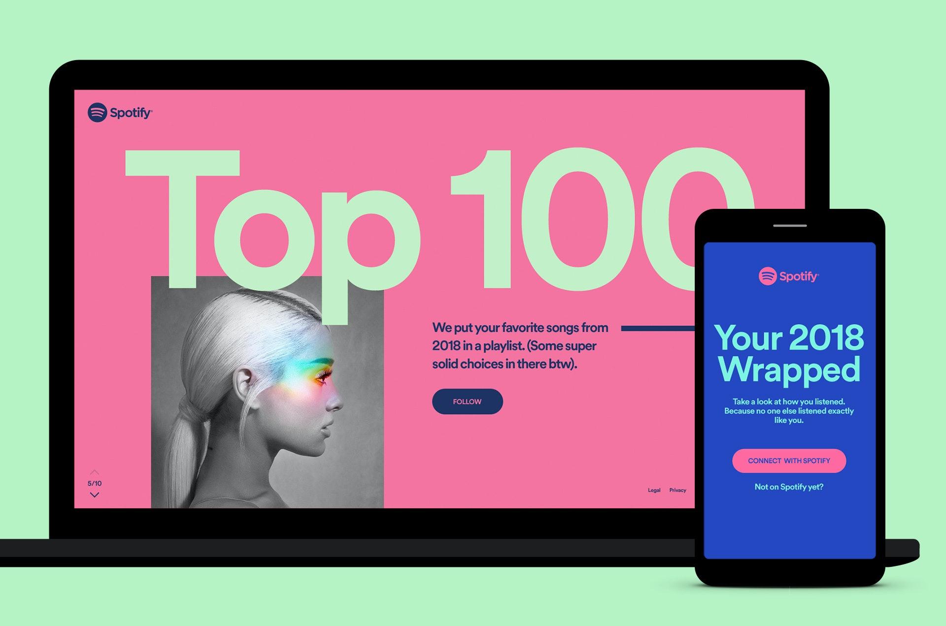 spotify wrapped 2019 com