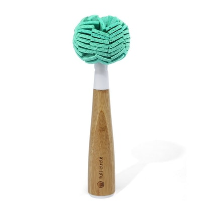 Full Circle Dish Cleaning Sponge With Handle