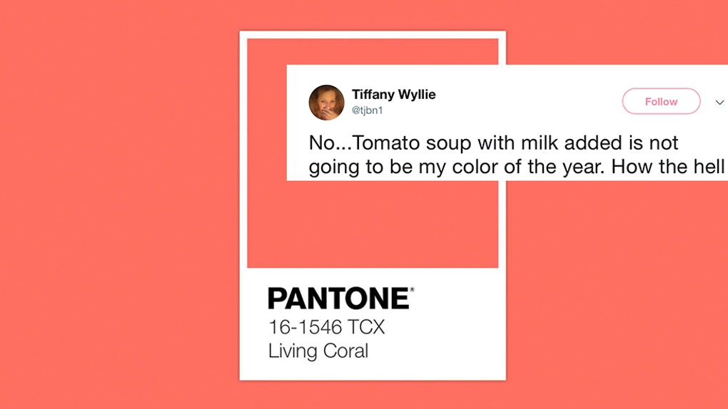 these tweets about living coral pantone 39 s 2019 color of the year will slay you