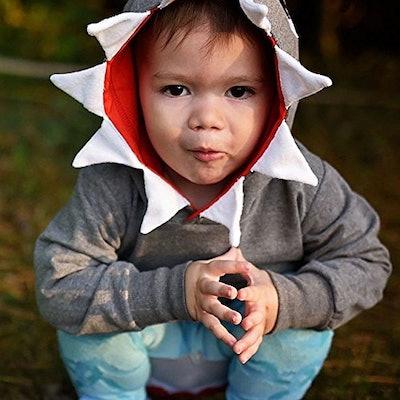 Hooded Shark Sweatshirt