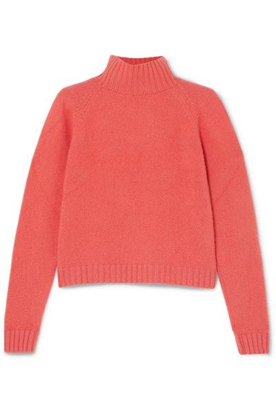The Elder Statesman Highland Cashmere Turtleneck Sweater
