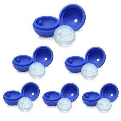 LOHOME Deathstar Ice Cube Molds (Pack of 6)