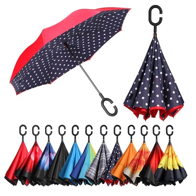 BAGAIL Double-Layer Inverted Umbrella
