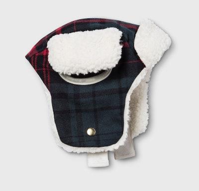 Pet Plaid Trapper Hat