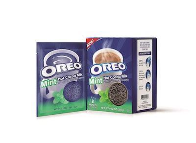 Mint Oreo Hot Chocolate