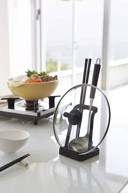 YAMAZAKI Home Tower Ladle And Lid Stand