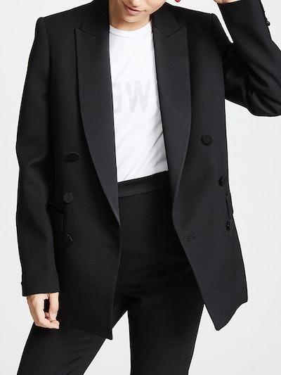 Cerbere Double Breasted Tuxedo Jacket