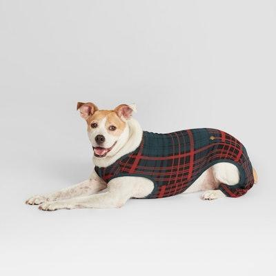 Pet Plaid Holiday Pajamas