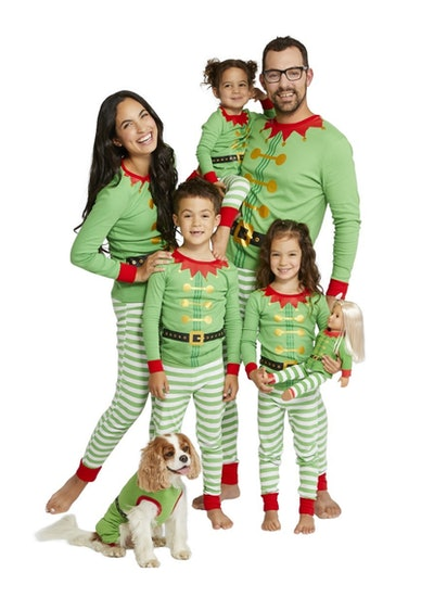 Holiday Elf Family Pajamas Collection
