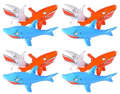 12 Pack Shark Inflatables