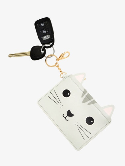 Sass And Belle Cat Key Ring Coin Purse