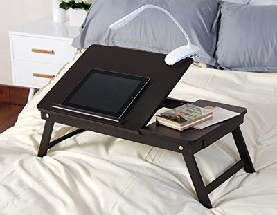 eHome Products Espresso Wooden Lap Desk