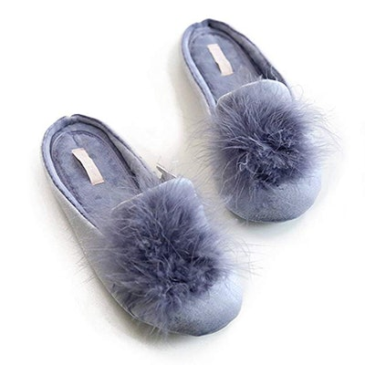 Halluci Memory Foam House Slippers