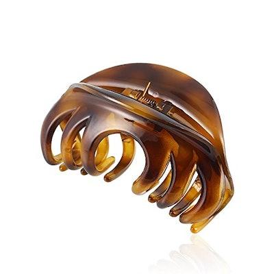 Rosette Hair Claw Clip