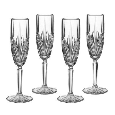 Marquis by Waterford Brookside Champagne Flutes (Set of 4)