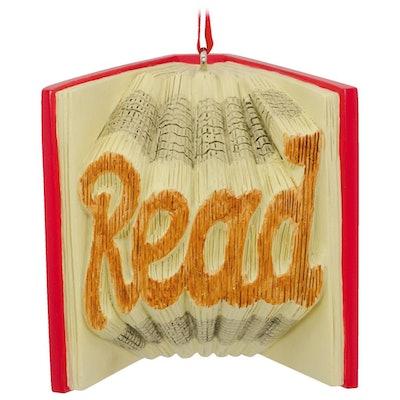 Read a Good Book Hallmark Ornament