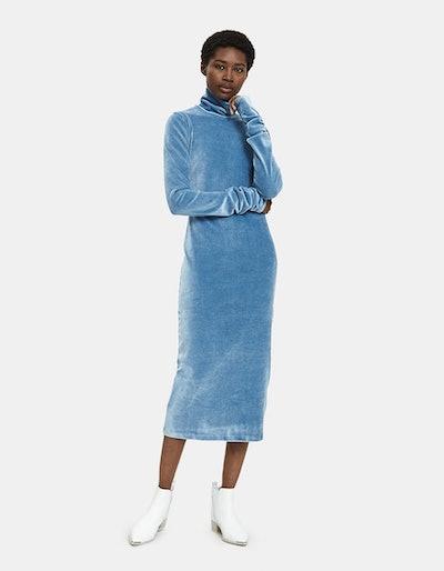 Finger Hole Jersey Dress