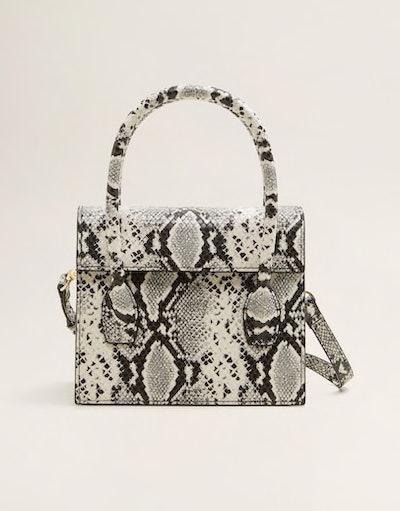 Snakeskin Effect Bag