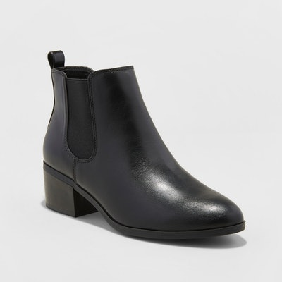 Women's Ellie Chelsea Boots - A New Day™ Black
