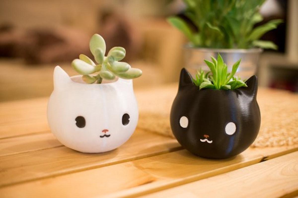 Cat Planter