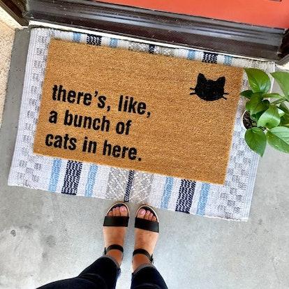 The Original Bunch Of Cats In Here™ Doormat