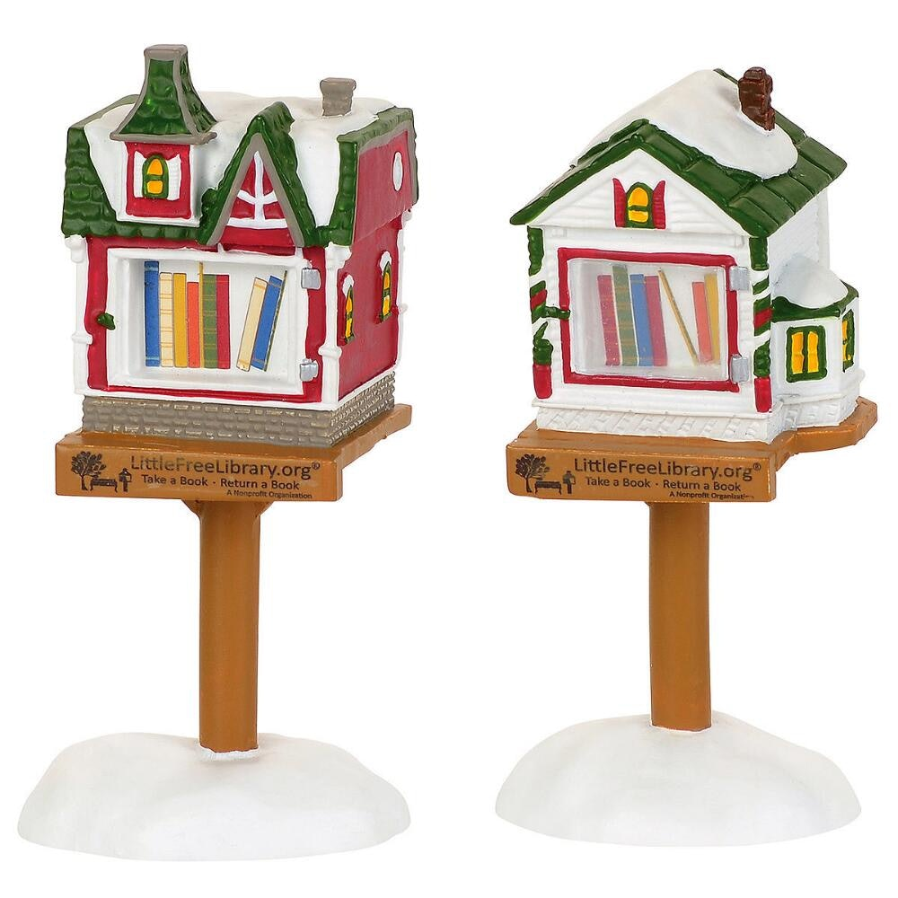Librarian S/'more Smores Porcelain Ornament Gift Library Books