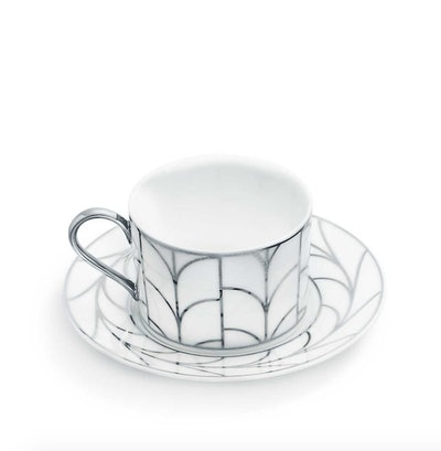 Wheat Leaf Cup and Saucer