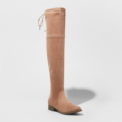 Women's Sidney Over the Knee Sock Boots - A New Day™