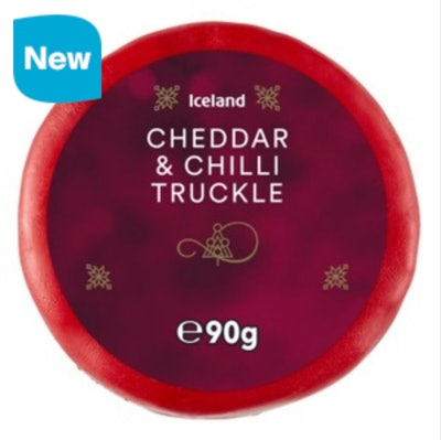 Iceland Cheddar And Chilli Truckle