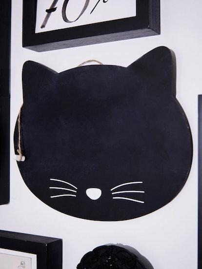 Sass And Belle Black Cat Chalkboard