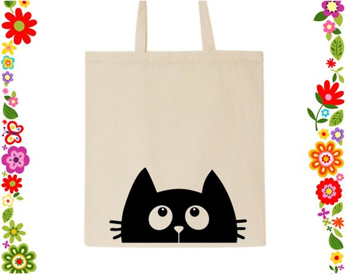 Kitten Print Tote