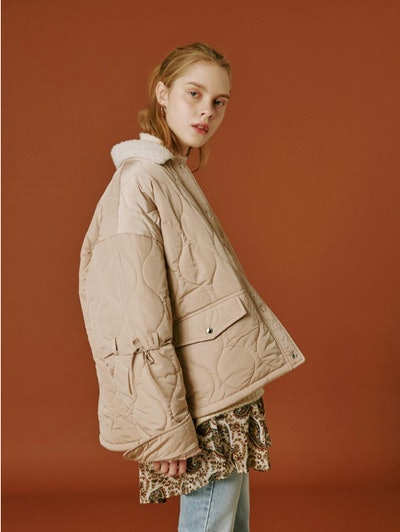 OUI MAIS NON Molly Quilted Jacket