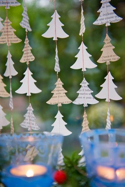 """""""My French Christmas Tree"""" Christmas Garland"""