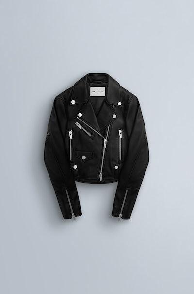 Clo II Classic Leather Moto Jacket