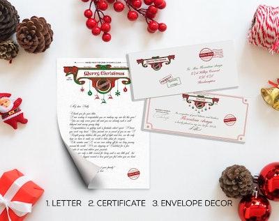 Christmas Letter Kit