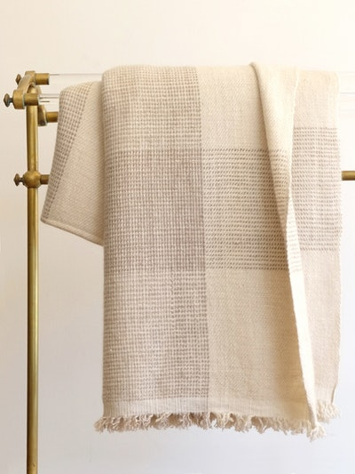 Vichy Cashmere Blanket