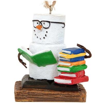 S'Mores Snowman Book Club Ornament