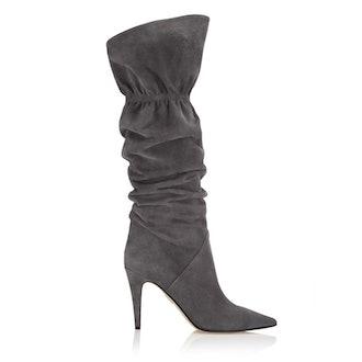 Marfa Knee High 90 Suede boots