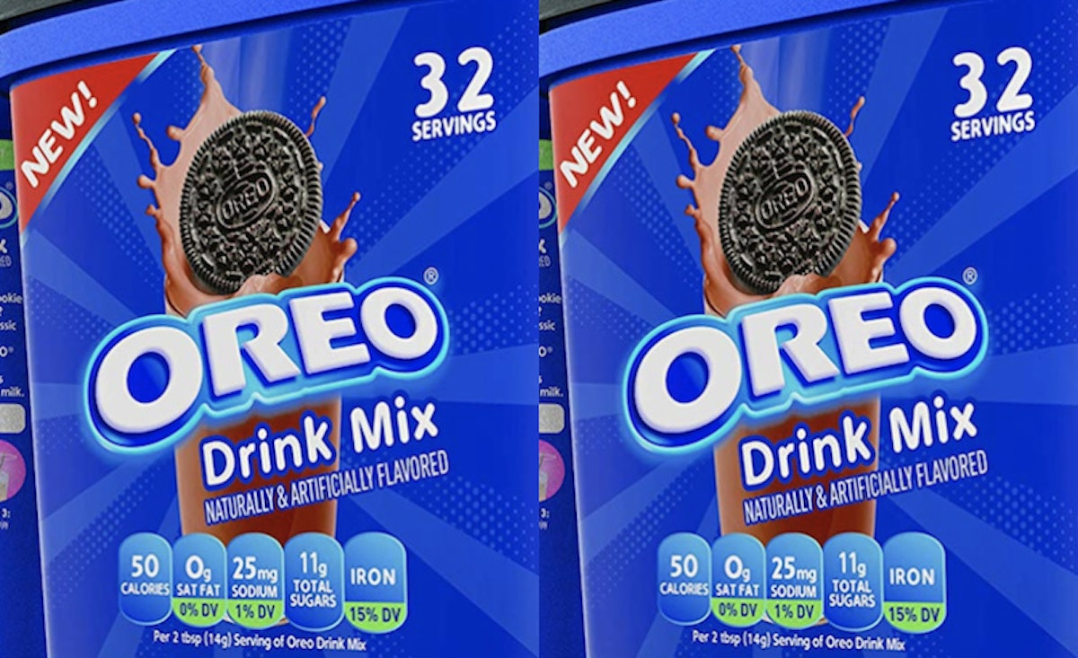What Is Oreo Drink Mix? This Chocolate Sip Will Change The Cookie Dunking Game