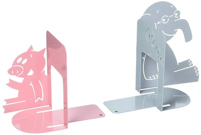 Elephant and Piggie Bookends