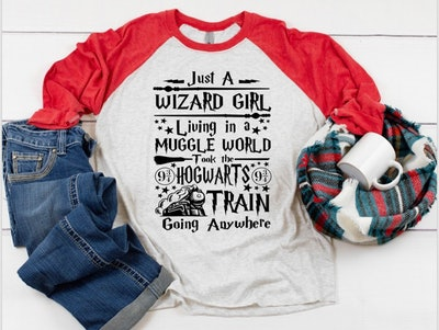 """Just A Wizard Girl…"" T-Shirt"
