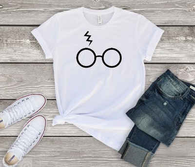 Harry Potter Glasses-Inspired T-Shirt