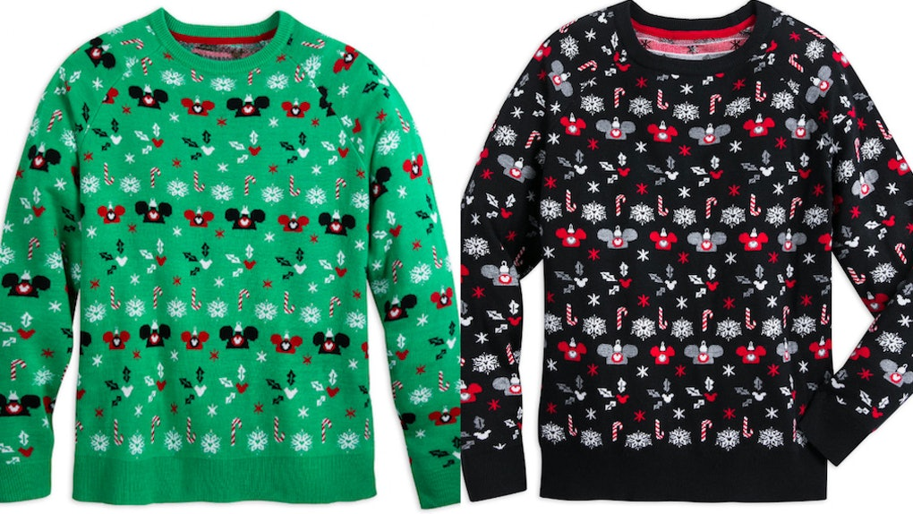 Disney Ugly Christmas Sweater.These Disney Ugly Christmas Sweaters Featuring Mickey Mouse