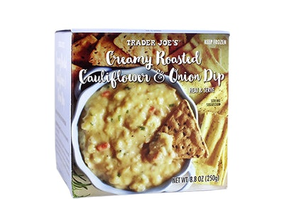 Creamy Roasted Cauliflower And Onion Dip
