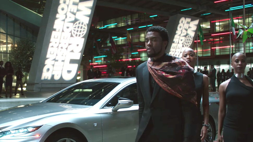 The Song In The Lexus Black Panther Commercial Will Get You Fired