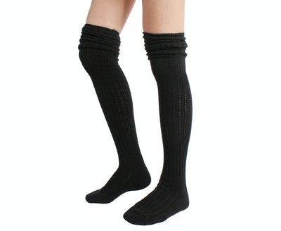 STYLEGAGA Winter Slouch Over-The-Knee Sock