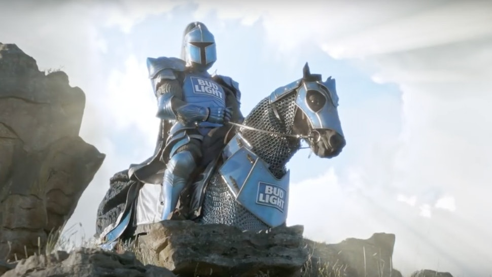 Who Plays The Bud Knight The Voice Behind This Bud Light